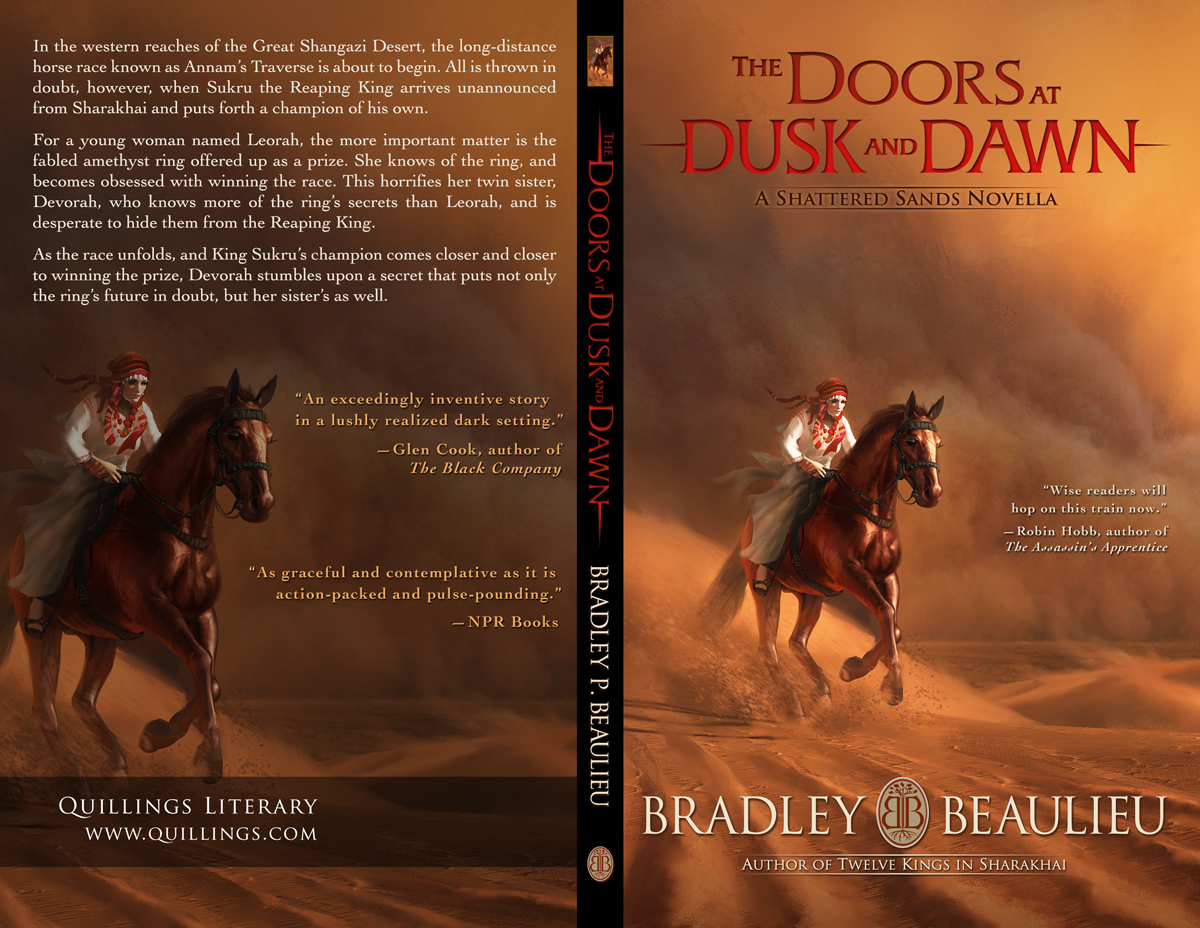 Click to embiggen & Cover Reveal: The Doors at Dusk and Dawn Full Cover Wrap u2013 Bradley ... pezcame.com
